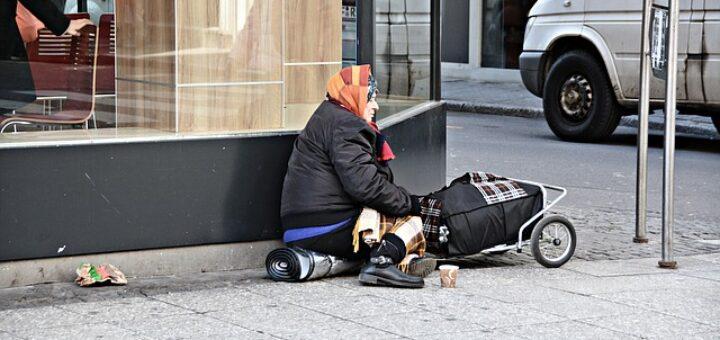 homeless senza fissa dimora