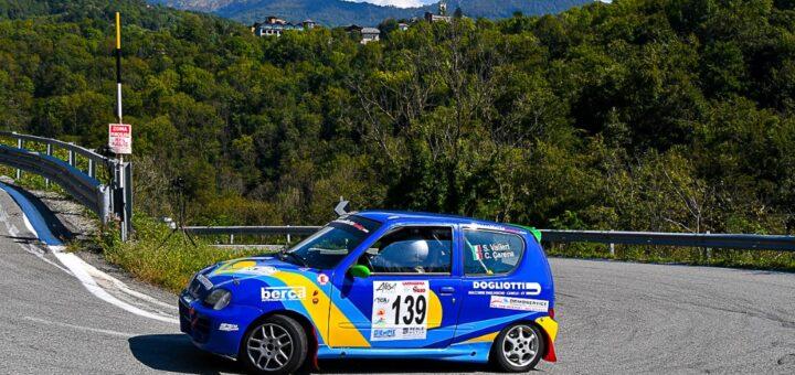 Stefano Valleri e Cristina Carena al Rally di Torino