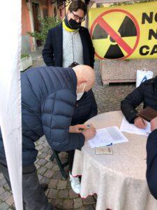 firme a carignao rifiuti radioattivi