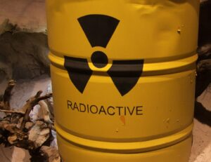 scorie radioattive