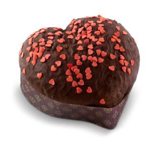 cuore galup di cioccolato