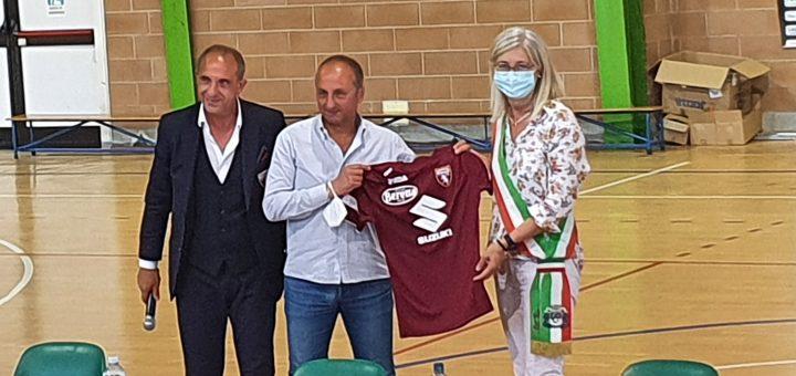 Teodoro Coppola - Massimo Bava - Torino Calcio - Ivana Gaveglio - Sindaco Carmagnola